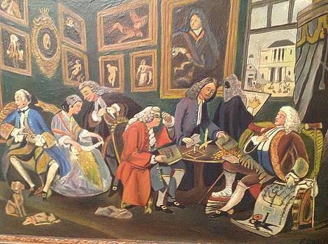 The marriage riunione. by Egidio Graziani