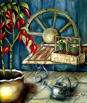 The Mexican Barn by Liz Aya