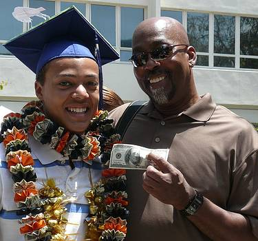 The Money Shot on Graduation Day by Jacquelyn Roberts