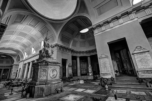 The monumental cemetery by Tommaso Di Donato
