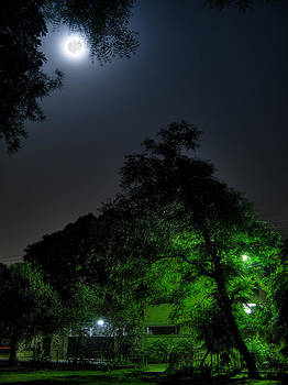 The Moon by Farhan Raza Naqvi