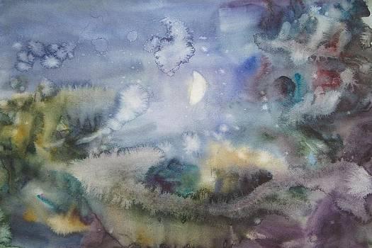 the Moon by Litvac Vadim