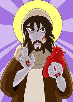 The Most Sacred Heart of Zombie Jesus by GP Abrajano
