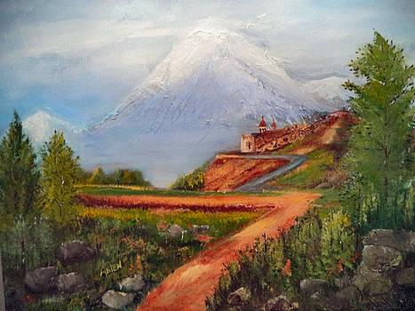 The Mountain by Arlen Avernian Thorensen
