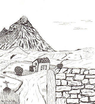 The Mountain Beyond The Fields by Martin Blakeley