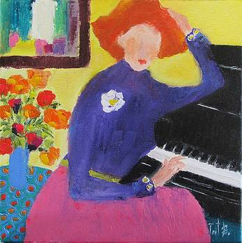 The Music Teacher by Irit Bourla