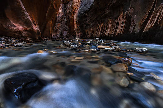 Larry Marshall - The Narrows at Zion National Park - 1