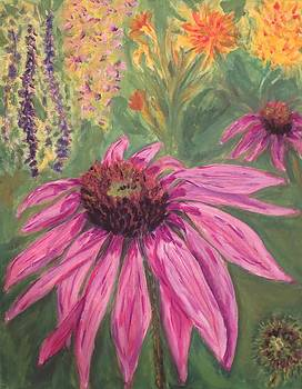 The Neighbors' Flower Bed by Cindy Lawson-Kester