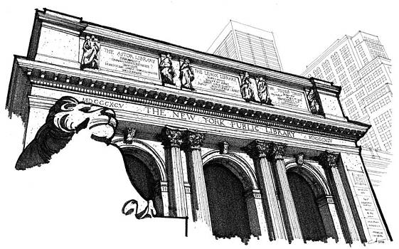 The New York Public Library by Calvin Durham