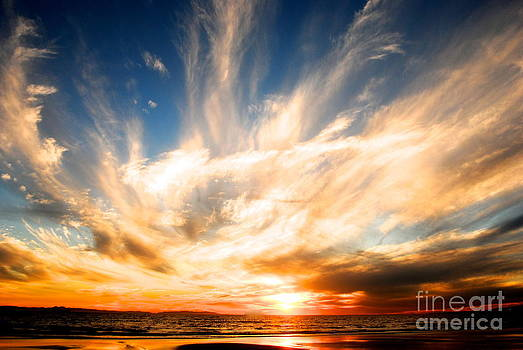 The Night the Sunset Danced by Margie Amberge