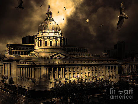 Wingsdomain Art and Photography - The Night The Vultures Returned To San Francisco City Hall 5D22510