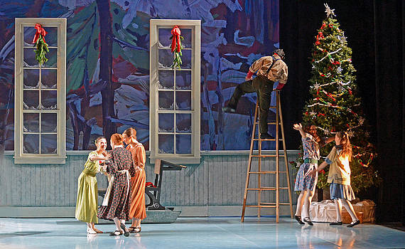 The Nutcracker Ballet 1 by Cheryl Cencich