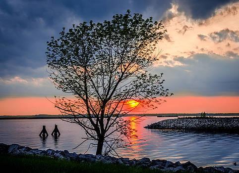 The Obligatory Sunset Photo by Anthony Morganti
