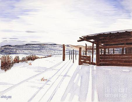 The Old Chicken Shed  by Shirley Miller