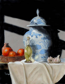 The old Chines vase by Barry Williamson