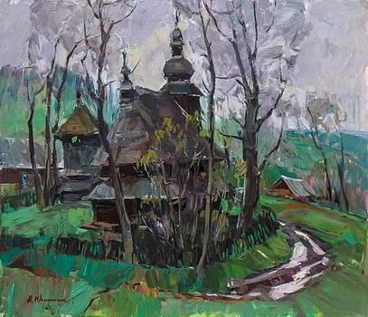 The Old Church by Alexander  Kriushin
