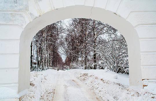 Jenny Rainbow - The Old Entrance to the Homestead Karabicha 1. Russia