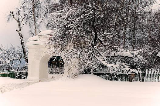 Jenny Rainbow - The Old Entrance to the Homestead Karabicha. Russia