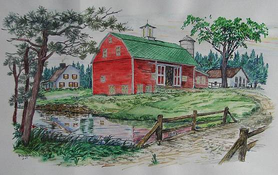 The Old Family Farm by Michael Race