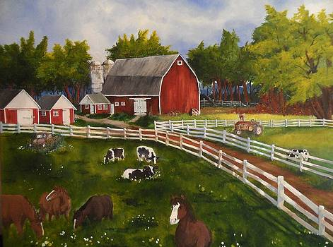 The Old Farm by Tim Loughner