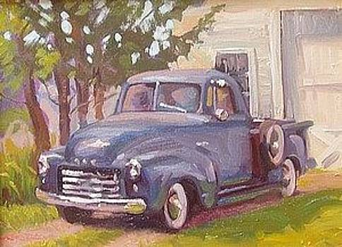 The Old GMC by Dianne Panarelli Miller