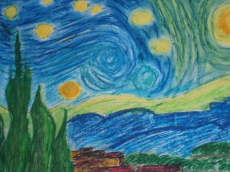 The Old Good Sunny Nights by Tania  Katzouraki