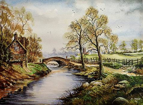 The Old Mill Path by Andrew Read