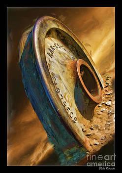 Blake Richards - The Old Niles Train Wheel