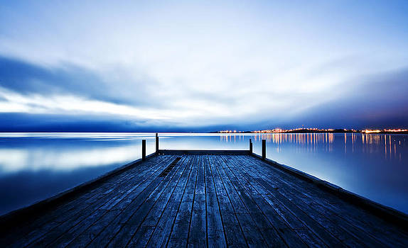The Old Pier by Kristin Jonsdottir