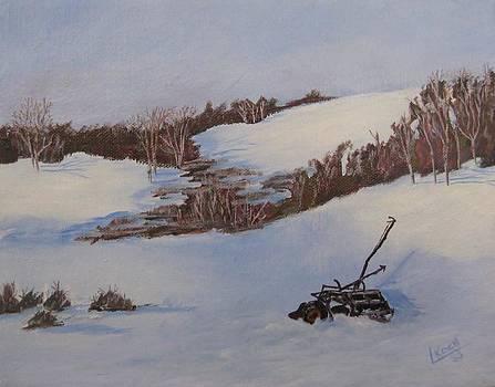 The old plow by Linda Koch