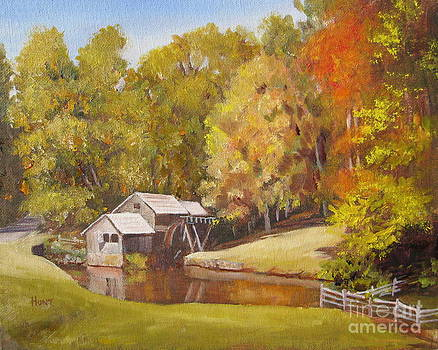 The Olde Mill by Shirley Braithwaite Hunt