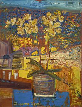 The orchid by Dariya Tishchenko-Zhuravel