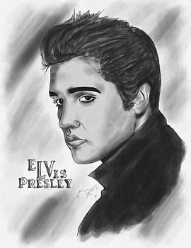 The Original Rockstar Elvis Presley by Kenal Louis
