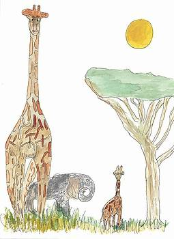 The Elephant Orphan by Helen Holden-Gladsky
