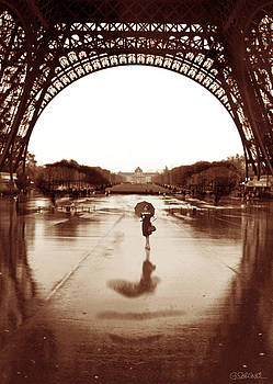 The Other Face Of Paris by Gianni Sarcone