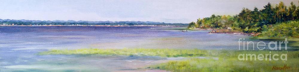 The Ottawa River by Kathy Harker-Fiander