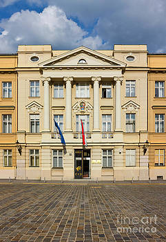 The Parliament of Croatia Facade by Kiril Stanchev