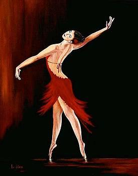 The passion of dance by Indira Mukherji