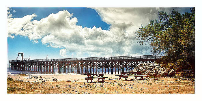 The Pier at Gaviotta by Steve Benefiel