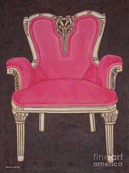 The Pink Chair by Margaret Newcomb