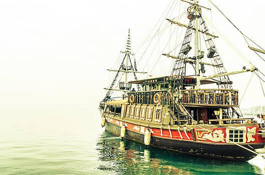 The pirate ship. by Slavica Koceva
