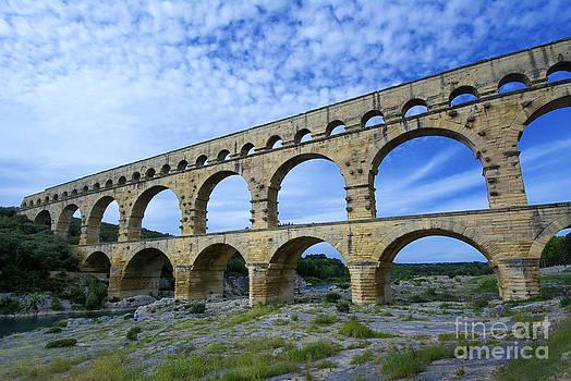 BERNARD JAUBERT - The Pont du Gard.France