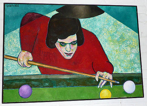 The Pool Player by Daniel Brennan