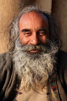 The portrait by Santosh Jaiswal