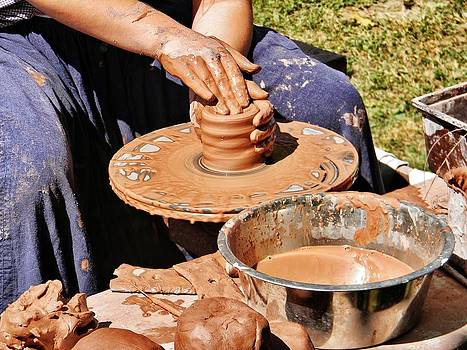 The Potter's Hands by Jean Goodwin Brooks