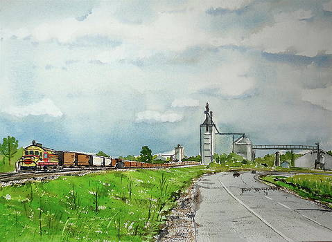 The Power of the Prairie by Bud Bullivant
