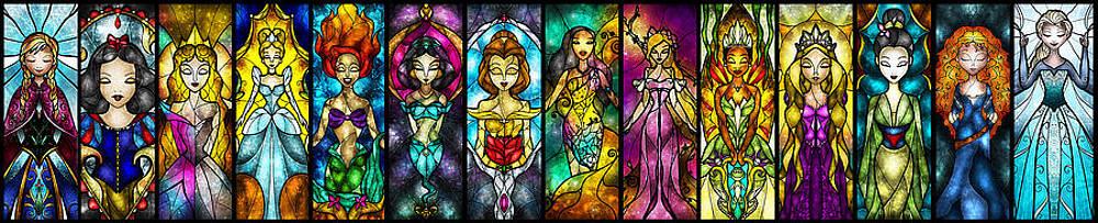 The Princesses by Mandie Manzano