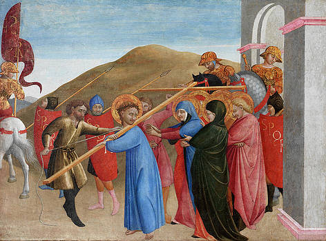 Sassetta - The Procession to Calvary