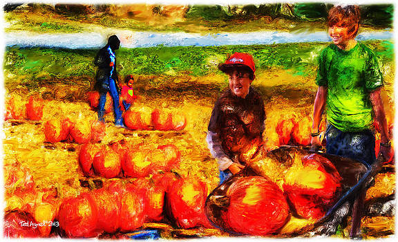 The Pumpkin Patch by Ted Azriel