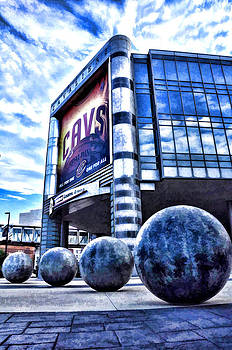The Q - Home of the 2016 NBA Champion Cleveland Cavaliers - 1 by Mark Madere